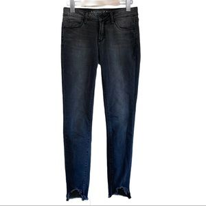 Articles of Society Frayed Hem Skinny Jeans